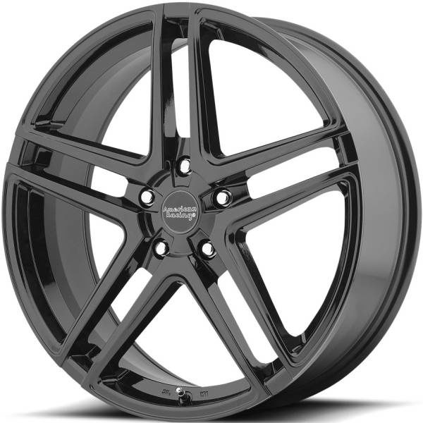 American Racing AR907 Gloss Black Wheels