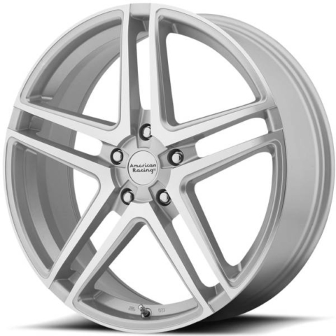 American Racing AR907 Silver Machined Wheels