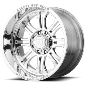 Asanti Offroad Series Wheels AB101 Full Polished