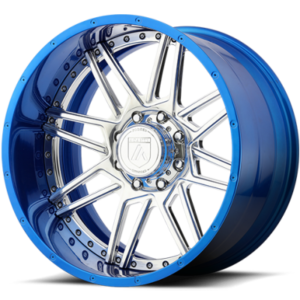 Asanti Offroad Series Wheels AB201 Chrome with Blue Lip