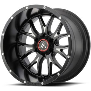 Asanti Offroad Series Wheels AB807 Black Milled