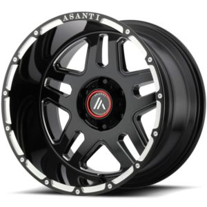 Asanti Offroad Series Wheels AB809 Black Milled