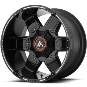 Asanti Offroad Series Wheels AB811 Black Milled