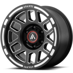 Asanti Offroad Series Wheels AB812 Black Milled