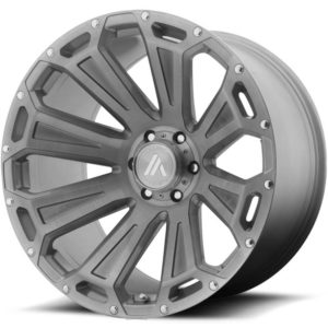 Asanti Offroad Series Wheels AB813 Titanium Brushed