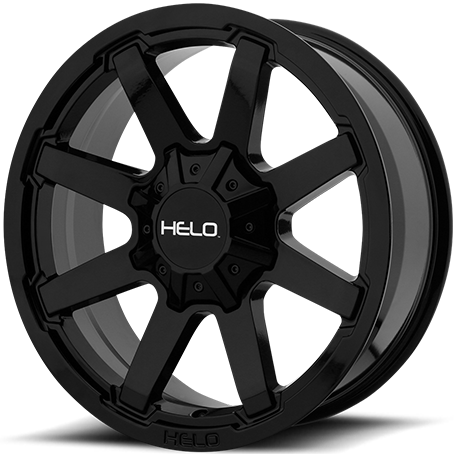 Helo HE909 Gloss Black Wheels