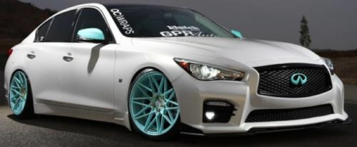 Klutch Wheels for Infiniti Q50