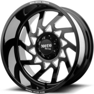 Moto Metal MO403 Gloss Black Milled Wheels