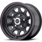 American Racing AR767 D Window Black Wheels