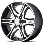 American Racing AR893 Mainline Gloss Black Machined Wheels