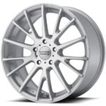 American Racing AR904 Machine Silver Wheels
