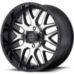 American Racing AR910 Machine Black Wheels