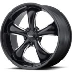 American Racing AR912 TT60 Black Milled Wheels