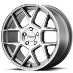 American Racing AR913 Apex Machine Gun Metal Wheels