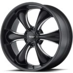 American Racing AR914 TT60 Truck Wheels Satin Black