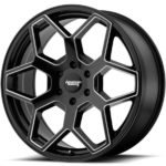 American Racing AR916 Gloss Black Milled Wheels