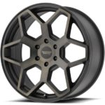 American Racing AR916 Satin Black with Dark Tint