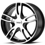 American Racing AR919 Estrella 2 Machine Black Wheels