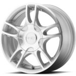 American Racing AR919 Estrella 2 Machine Silver Wheels