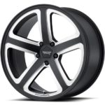 American Racing AR922 Hot Lap Satin Black Milled Wheels
