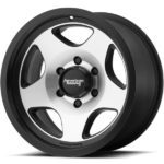 American Racing AR923 Mod 12 Machine Black Wheels