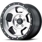 American Racing AR969 Ansen Off Road Machine Black Wheels