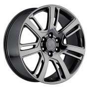 Factory Reproductions Style 48 Black Chrome Wheels