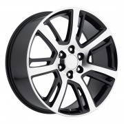 Factory Reproductions Style 48 Machine Black Wheels