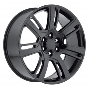 Factory Reproductions Style 48 Gloss Black Wheels