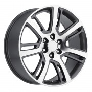 Factory Reproductions Style 48 Grey Machined Wheels
