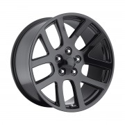 Factory Reproductions Style 60 Dodge Ram SRT10 Gloss Black Wheels