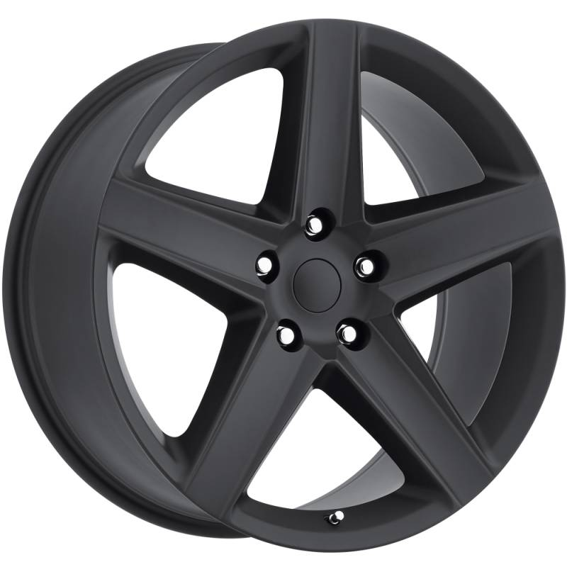 Factory Reproductions Style 63 Jeep Grand Cherokee SRT8 Satin Black Wheels