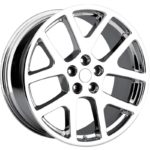 Factory Reproductions Replica Wheels Style 64 Jeep Viper Chrome