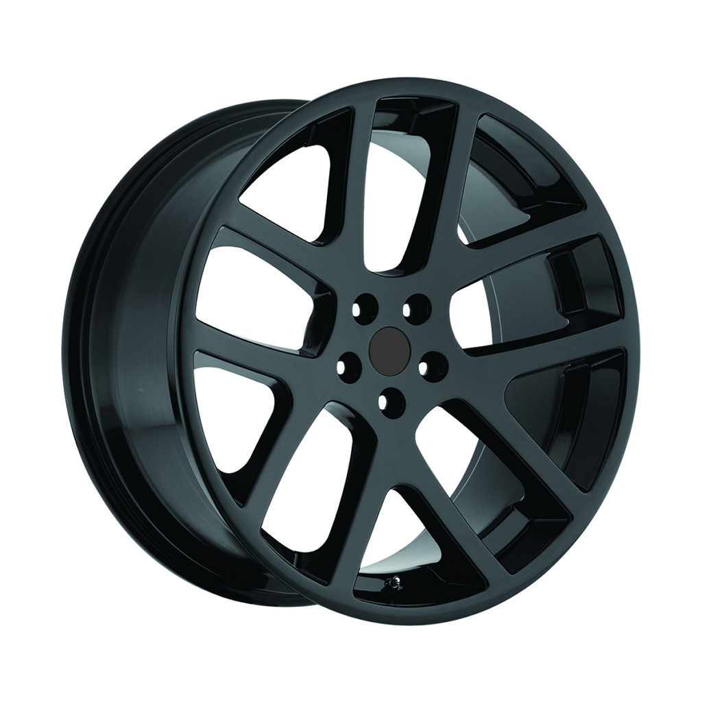 Factory Reproductions style 64 Viper Gloss Black Wheels