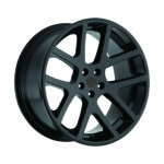 Factory Reproductions Replica Wheels Style 64 Viper Gloss Black