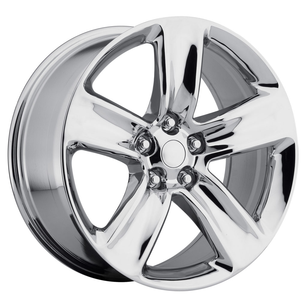 Factory Reproductions style 68 Jeep Grand Cherokee SRT Chrome Wheels