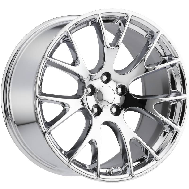 Factory Reproductions style 70 Dodge Hellcat Chrome Wheels