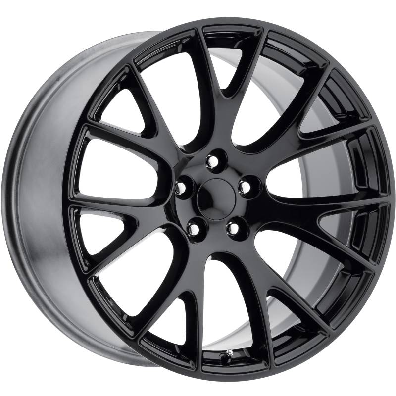 Factory Reproductions style 70 Dodge Hellcat Gloss Black Wheels