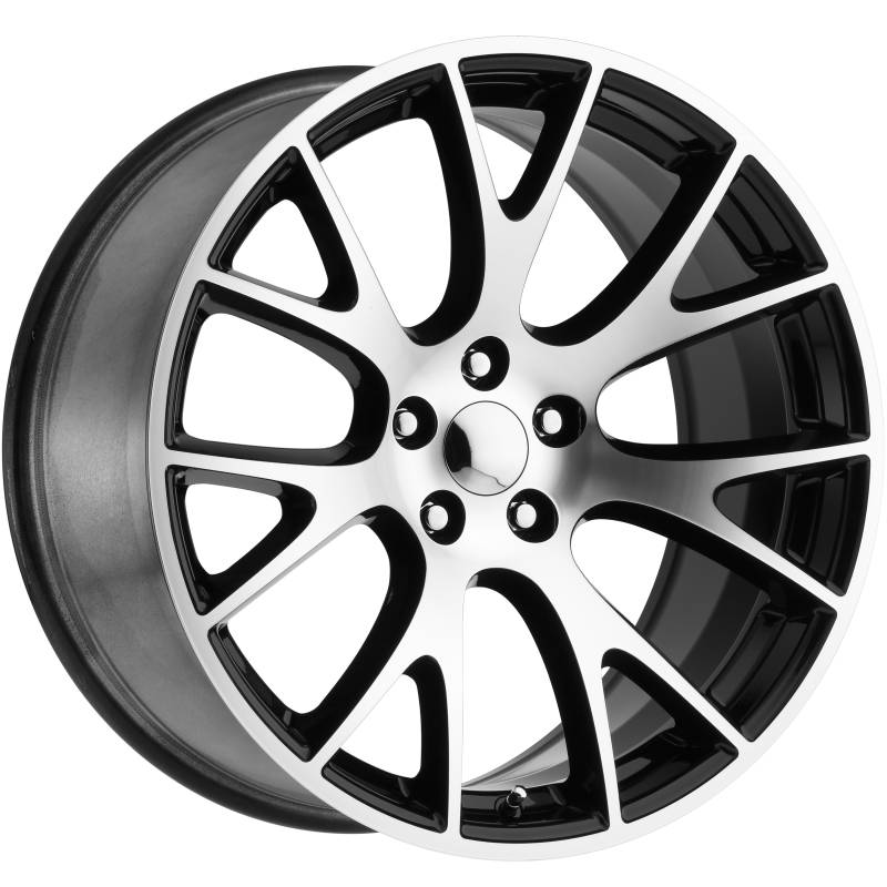 Factory Reproductions style 70 Dodge Hellcat Machine Black Wheels