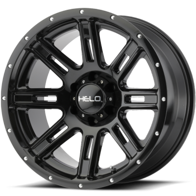 Helo HE900 Gloss Black Wheels