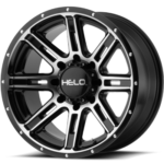 Helo Wheels HE900 Machine Black