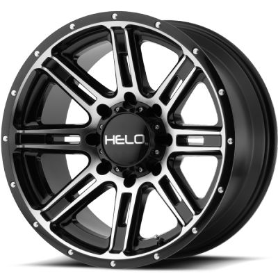 Helo HE900 Machine Black Wheels