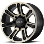 Helo Wheels HE904 Black w/Dark Tint