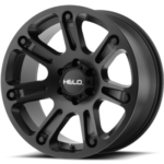 Helo Wheels HE904 Satin Black