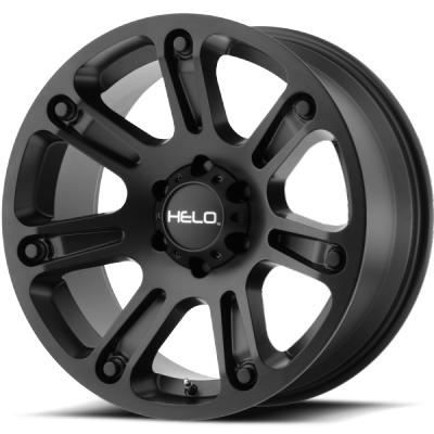 Helo HE904 Satin Black Wheels
