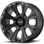 Helo HE901 Satin Black Wheels