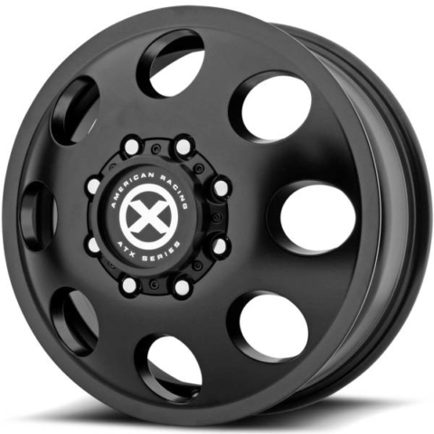 ATX Series AX204 Satin Black Baja Front Dually Wheel
