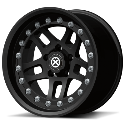 ATX Series AX195 Cornice Black Teflon Coated Wheels