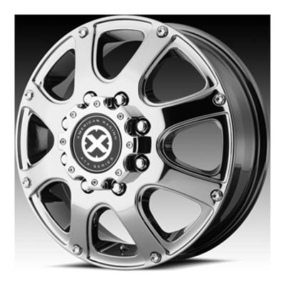 ATX Series AX188 Ledge Front Dually Wheels PVD