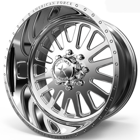 American Force Atom Polished Wheels